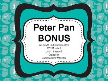 **POWERPOINT BONUS** Peter Pan, Module 3, Unit 1, Lesson 9 Character Match Game