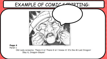 POWERPOINT: Comic Book Scripting Techniques