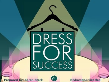 """HOW TO DRESS FOR AN INTERVIEW POWERPOINT - """"Dress for Success"""""""
