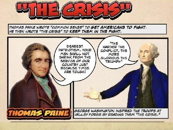 POWERPOINT, Hards Time of the American Revolution by Comic 180: 6.12