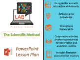 POWERPOINT LESSON FOR DELIVERY:  The Scientific Method