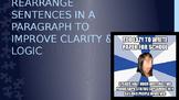 POWERPOINT: PARAJUMBLES (Rearrange sentences in a paragraph for clarity & logic)