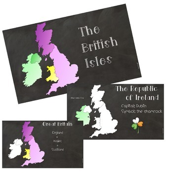 POWERPOINT PRESENTATION: Teach about the British Isles / The United Kingdom