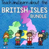 BUNDLE: the British Isles - Interactive pdf / ppt presentation