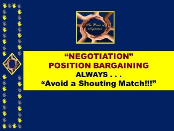 """NEGOTIATION PPT -  """"The Power of Negotiation"""" 8 TIPS + 5 Student Activities"""
