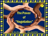 "NEGOTIATION PPT -  ""The Power of Negotiation"" 8 TIPS + 5 S"