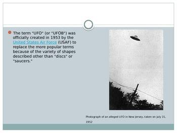 POWERPOINT UFO's
