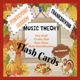 POWERPOINT VERSION Music Theory Flash Cards (Thanksgiving Edition)