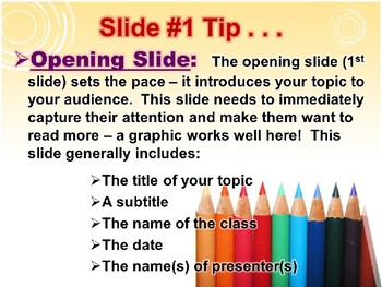 """POWERPOINT - """"How to Create Sensational PowerPoint Slideshows"""""""