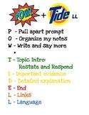POW+TIDE Mnemonic Poster from SRSD