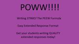 POWW Easy Extended Response Format PEEW