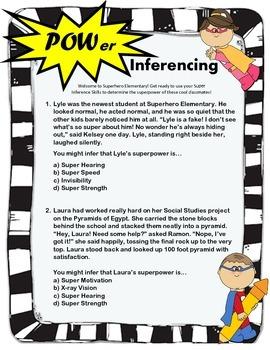 POWer Inferencing! Superhero Theme