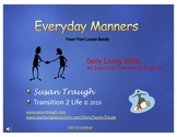 PP Everyday Manners PowerPoint Program