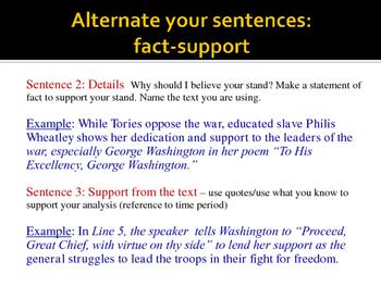 PP - Sentence Breakdown Instruction: Extended Constructed Response