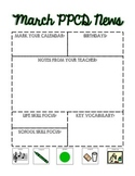 PPCD Classroom Newsletter for March