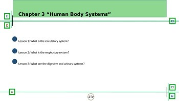 PPT 5th Gr Life Science Chapter 3 Human Body Systems Scott Foresman