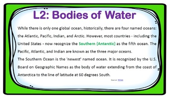 PPT Social Studies US History Chapter 1 Our Country's Geography Presentation