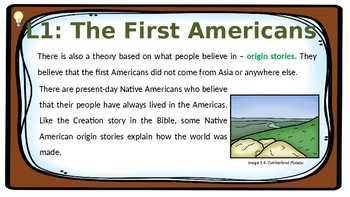 PDF Social Studies US History Chapter 2 The Earliest Americans Presentation