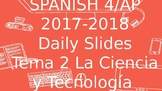 PPT - AP Spanish - Ciencia y tecnologia Science and Technolgy