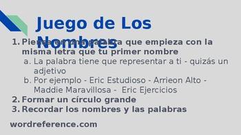PPT - AP Spanish - Las familias y comunidades Families and Communities