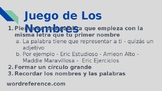 PPT - AP Spanish - Las familias y comunidades Families and