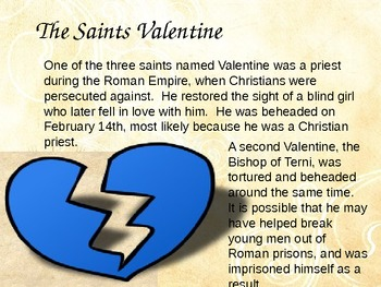 PPT: An Extensive History of Valentine's Day