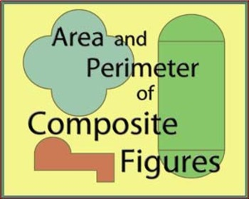PPT Composite Figures of Rectangles and Circles - How to Solve