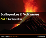 PPT - Earthquakes and Volcanoes + Student Notes - Distance