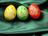 PPT: Easter Eggs hunting game/ something in the eggs