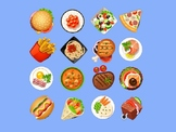 PPT: Food guessing/ Fruit guessing Game. Animation effect.