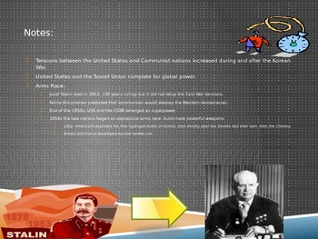 PPT: How did the Cold War increase tensions around the world?
