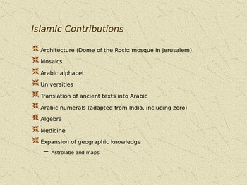 PowerPoint - Introduction to Islam