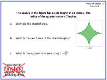 PPT Lessons for Eureka Math (Engage NY) 7th Grade Bundle- ALL MODULES!