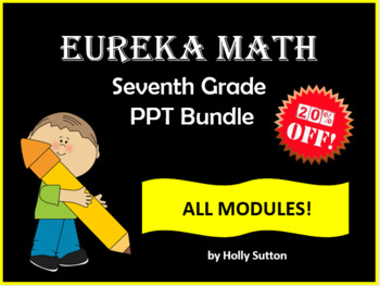 Eureka math teaching resources teachers pay teachers ppt lessons for eureka math engage ny 7th grade bundle all modules fandeluxe Gallery