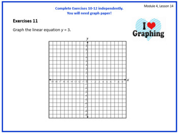 PPT Lessons for Eureka Math (Engage NY) 8th Grade Module 4