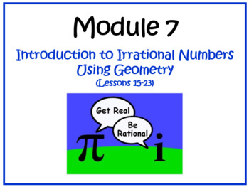 PPT Lessons for Eureka Math (Engage NY) 8th Grade Module 7 Lessons 15-23