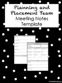 PPT Meeting Notes Template