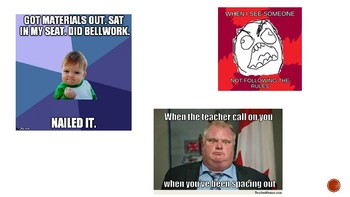 PPT - Memes for Spanish Syllabus & Behavior Contract