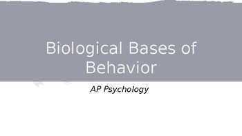 PPT Notes for Neurons, Neural Transmission, and Neurotransmitters AP PSYCH