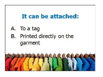 PPT Powerpoint - What's On a Garment Care Label? [Corresponds with Notes Sheet]
