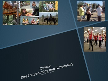 PPT Quality Adult Day Porgram Training