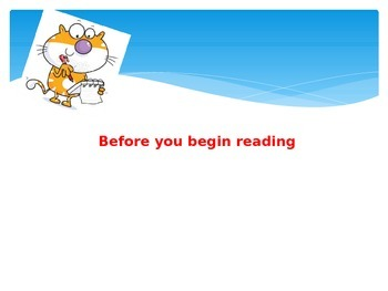 PPT - Reading Strategy: Plan your reading/Preview & Predict