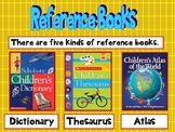Kinds of Reference Books CCSS Grades 2, 3, 4, ,5, and 6. Revised.