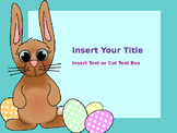 PPT Review Game Editable Multiple Choice Easter Background