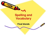 PPT Slideshow with Consonant Final Blends