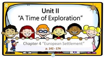 PPT US History Chapter 4 European Settlement Presentation