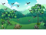 PPT: Sticky Ball Game/ shoot the birds