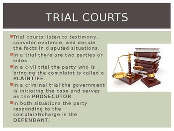 PPT Street Law:  A Course in Practical Law:  Chapter 5  Court Systems