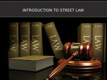 PPT Street Law:  A Course in Practical Law by: Glencoe  Ch