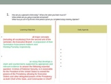 PPT To Guide SBAC Aligned Performance Task Brainstorm Lesson
